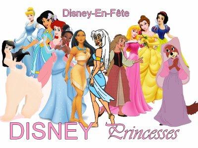 Blog music de disney en fete walter elias disney - Toutes les princesse disney ...