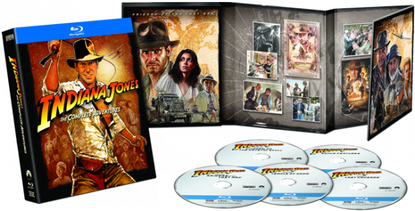 *BLU-RAY INDIANA JONES*